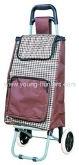 easy clean shopping trolley bag with pocket