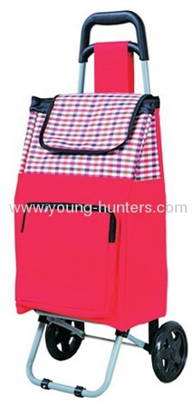 high quality folding shopping trolley bag with high volume