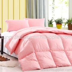 duck down feather dilling goose down feather quilt/comforter