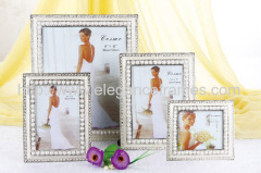 Metal Pearl Wedding Photo Frames