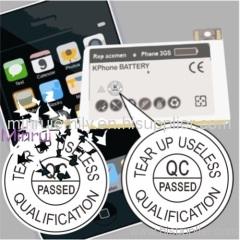qc calibration label