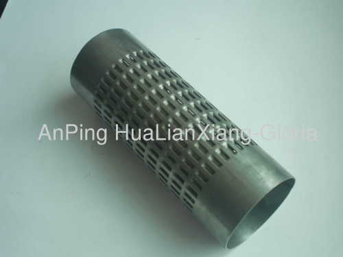 Aluminum Perforated Pipe Hlx 97 Manufacturer From China