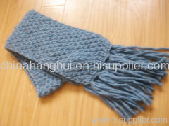 fashion long knitted winter scarf