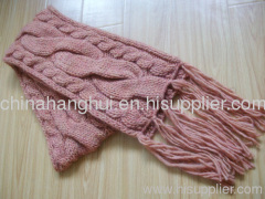 fashion knitted winter scarf