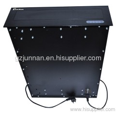 New design motorized desk monitor lift with rs485 for office system