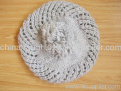 2012 newest fashion knitted ladies' hat