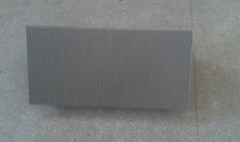 Aluminum Step Without Demarcations 800mm