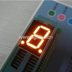 amber 7 segment led displays;amber led numeric displays