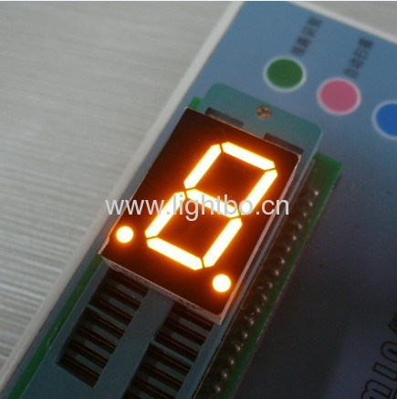 0.8 inches single digit anode amber numeric led displays
