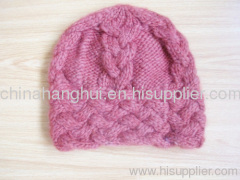 2012 fashion knitted ladies' hat