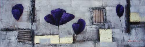 Handpainted Oil Painting Flowers