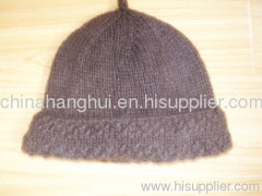 newest fashion knitted ladies' hat