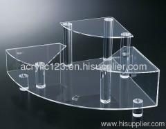 acrylic jewelry triangle stand