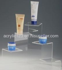 acrylic cosmetic display tray