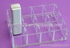 acrylic retail cosmetic display rack