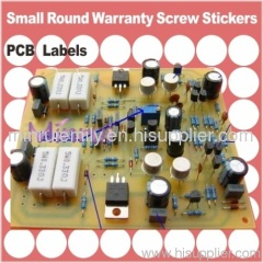 Warranty Seals for identify electronics Component,such as PCBs