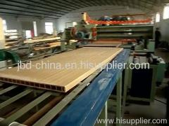 PVC WPC door board making machine