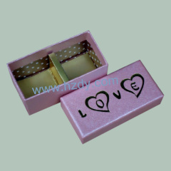 2 holes paper box for sweets