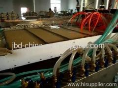 WPC hollow grid door board extrusion machine