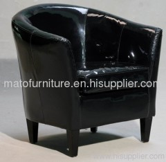 soft PU arm chair