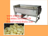 Potato/garlic/onion washing and peeling machine