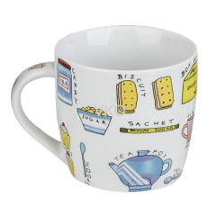 Milk New Bone China Mug With Spoon
