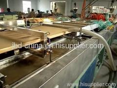 WPC door board making machine