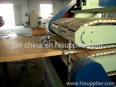 wood plastic composite door board production line