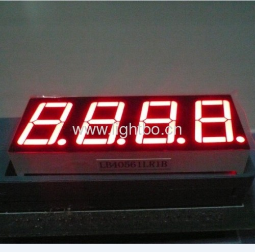 4 digit 0.56 inches ultra bright White Common Anode 7 Segment LED Display