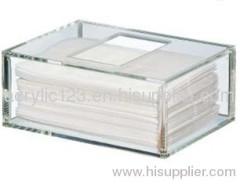 clear acrylic tissue boxes,napkin holder