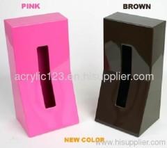 acrylic tissue boxes/napkin holder