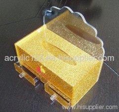 Acrylic Tissue Boxes Display