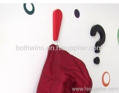 question and answer hanger