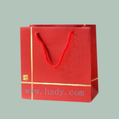 Paper bag for wine packaging