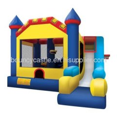 Kids inflatable castle combo