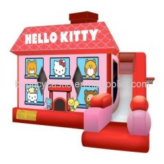 Hello Kitty inflatable combo bouncers