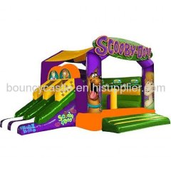 Scooby interactive Castle Inflatable Combo Jumper