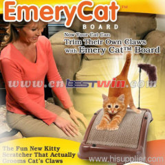 EMERY CAT BOARD KITTY SCRATCHER