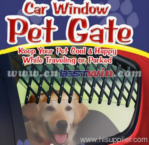 Car Window Pet Gate