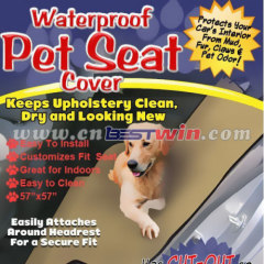 Hammock Style Waterproof Pet Car Seat Cover