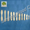high quality birch wood ice cream spoon