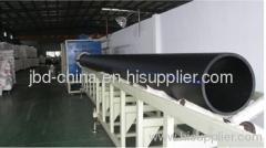PE pipe manufacturing machine