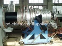 PE pipe processing machine