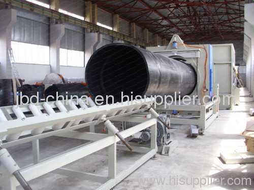 315-630mm PE pipe production line