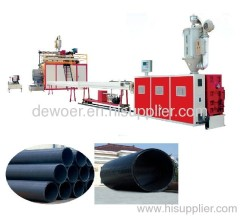 Large diameter ABS pipe production line