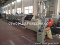 ABS pipe machine