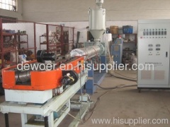 single wall ripple pipe extrusion line