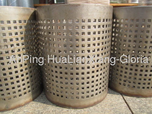 Galvanized Fine Perforated Pipe Hlx 114 Manufacturer From