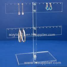 acrylic tabletop jewelry display case