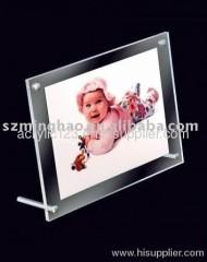 acrylic bar photo frame